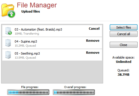 Mengenal File Manager Centova